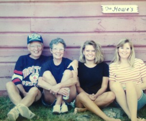 The Howe's - Summer 1995