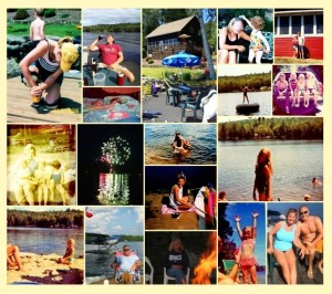 Deb's Lake Collage (2)