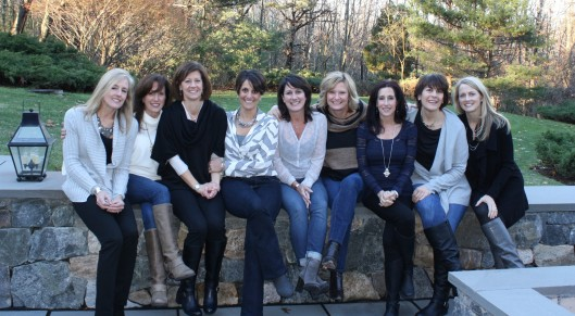 From L to R - Hurley, Compa, Lee Animal, Scarpa, Kristen, Debba, Doreen, Marce and Sue D.