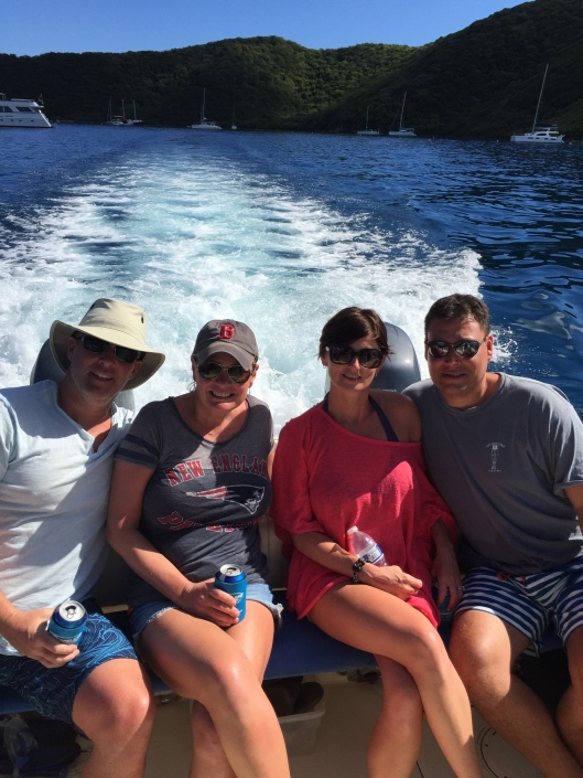 Boat trip to British Virgin Islands